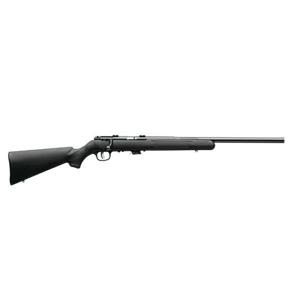 Savage Arms Mark II with bull barrel and synthetic stock [.17 HMR]