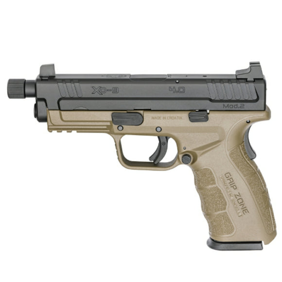 Springfield XD 2.0 with threaded barrel, FDE [9mm]