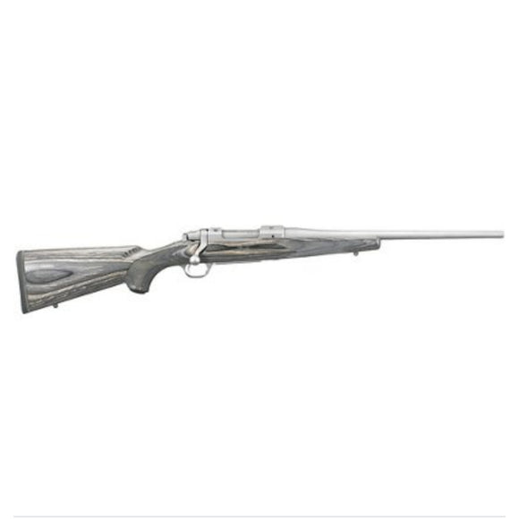 Ruger M77 stainless with laminate stock [.380 WIN]