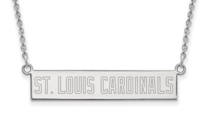 St. Louis Cardinals Bar Necklace