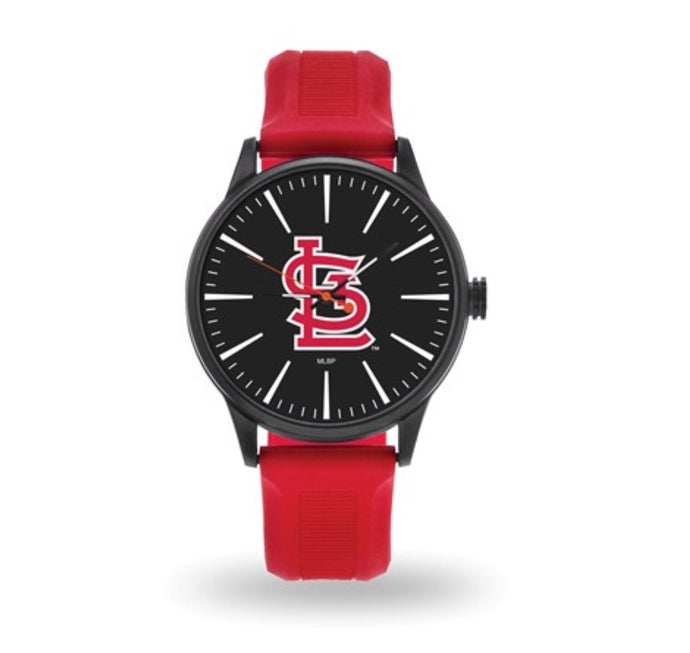St. Louis Cardinals Black Dial Watch