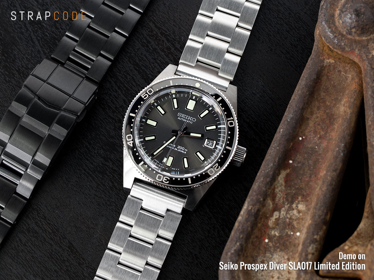 Seiko Prospex Diver SLA017 on Super Oyster watch band