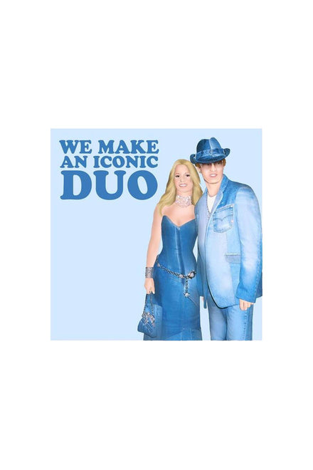 Central 23 Iconic Duo Greeting Card