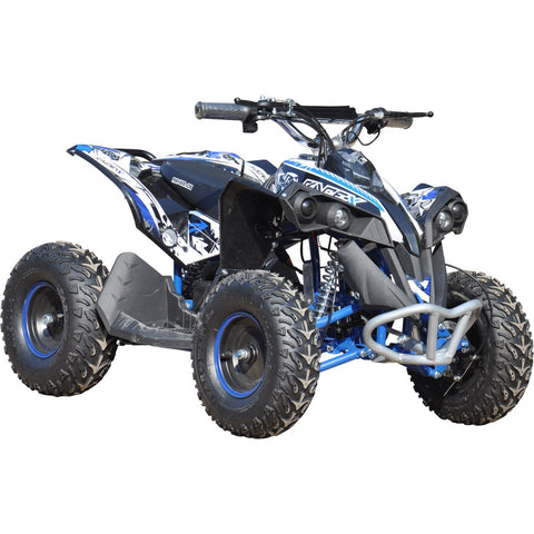 Renegade Race-X 36V 1000W Electric Kids Quad Bike - Blue - EpicStuff