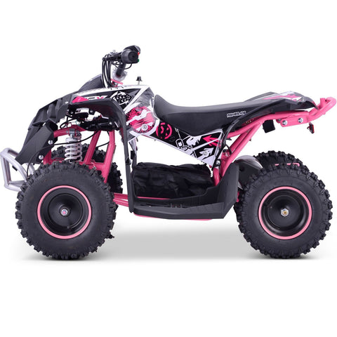 Renegade Race-X 36V 1000W Electric Kids Quad Bike - Pink - EpicStuff