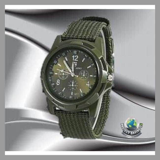Nylon band Military High Quality Quartz Movement Watch (WW) - Watches