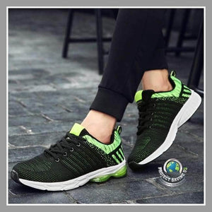 Mens Running Outdoor Breathable Casual Shoes (PT) - Shoes