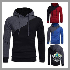 Mens Long Sleeve Hooded Jacket (AF) - Jackets