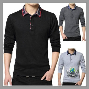 Mens Casual Long Sleeve Shirt (FD) - Shirts