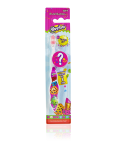 Brush Buddies Shopkins Toothbrush with Mystery Cap