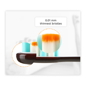 Brush Buddies Caress Toothbrushes Combo