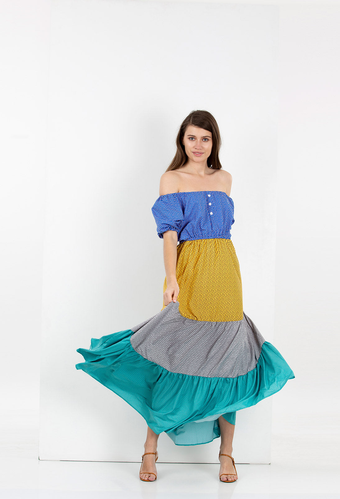 country heart dress