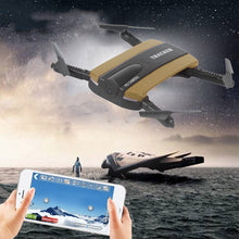 Load image into Gallery viewer, Altitude Hold HD Camera WIFI FPV RC Quadcopter Selfie Foldable Drone
