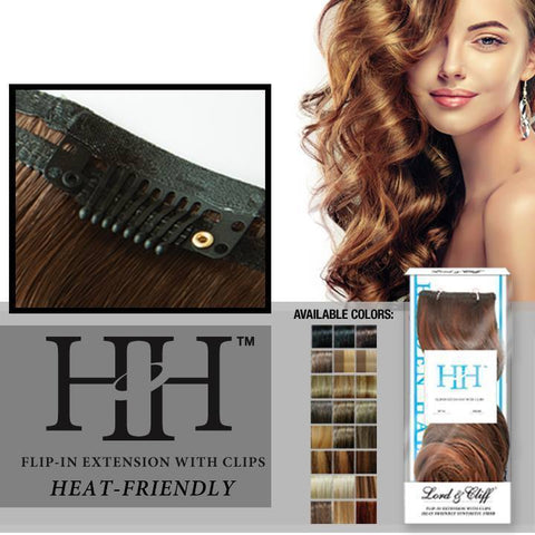 "Hidden Halo Synthetic Curly Hair 18"" Color#14/24/613"