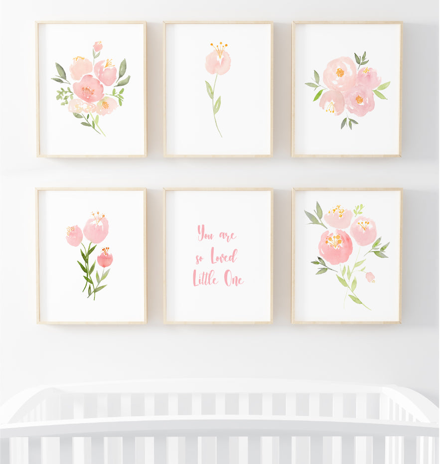 Nursery Prints Featured on Pottery Barn Kids