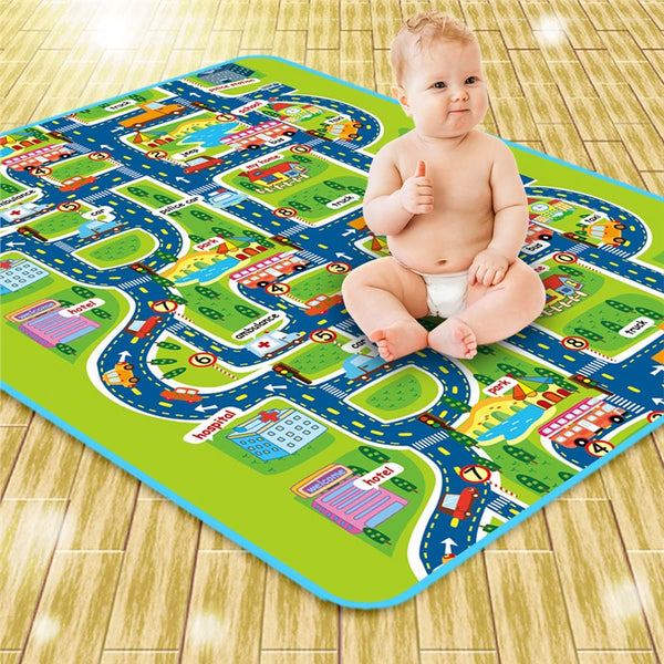 Crawling Baby Gym Play Mat