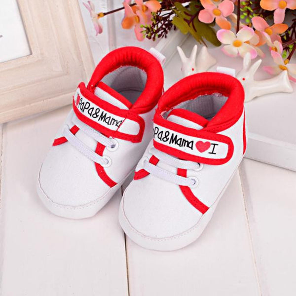 Soft Sole Canvas Sneakers