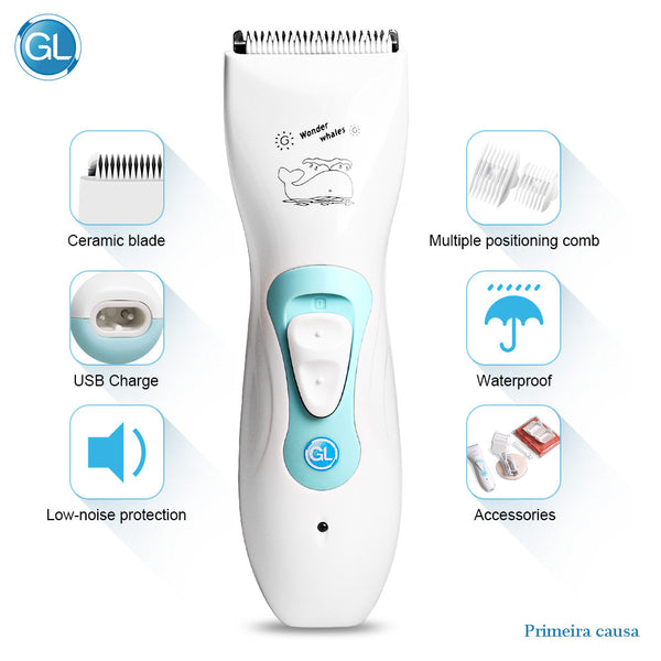 Ceramic Baby Hair Clipper