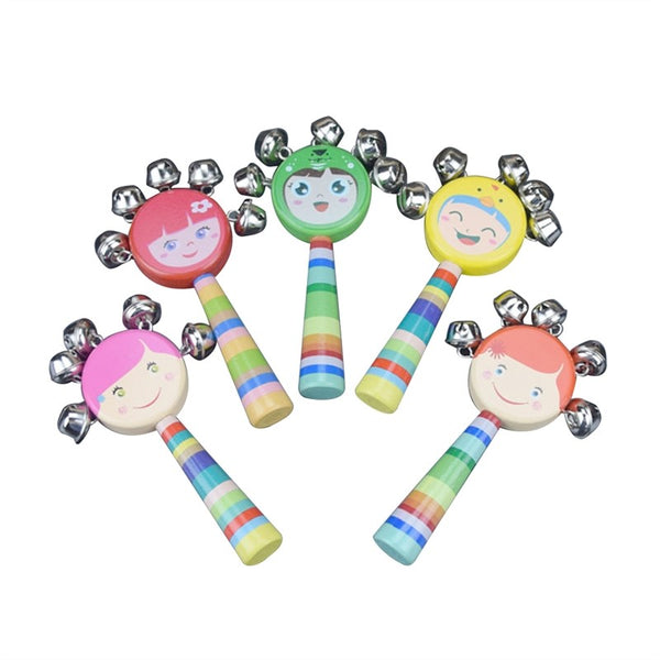 Wooden Rainbow Musical Toys (Random Color)