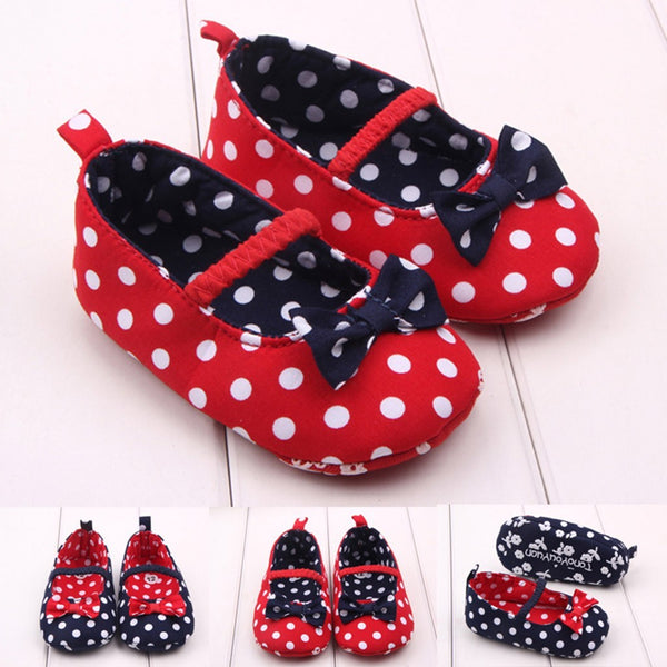 Baby Girls Dot Shoes