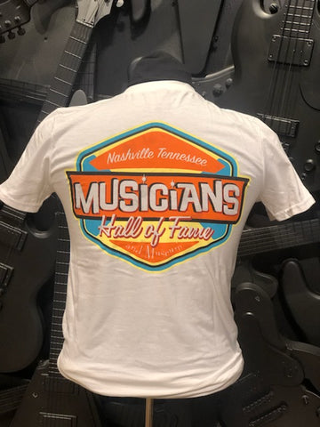 Musicians Hall of Fame Retro Pocket T-Shirt