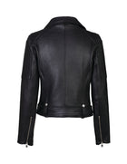 CLASSIC BIKER JACKET PEBBLED