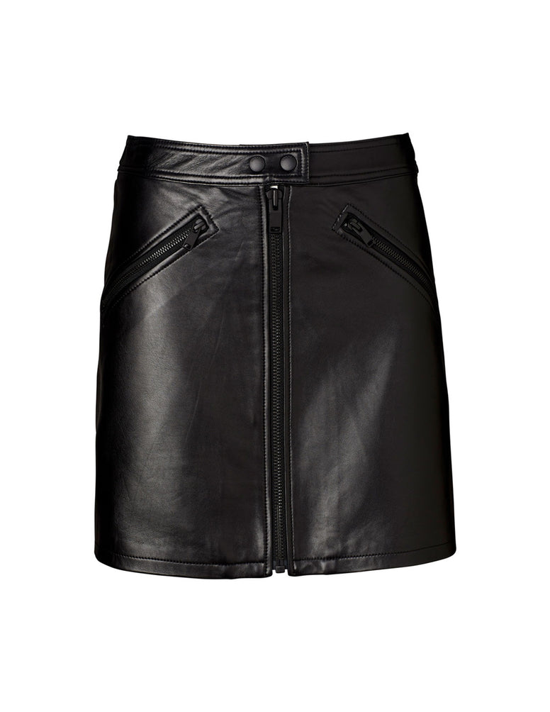 Classic Mini Skirt - Textured