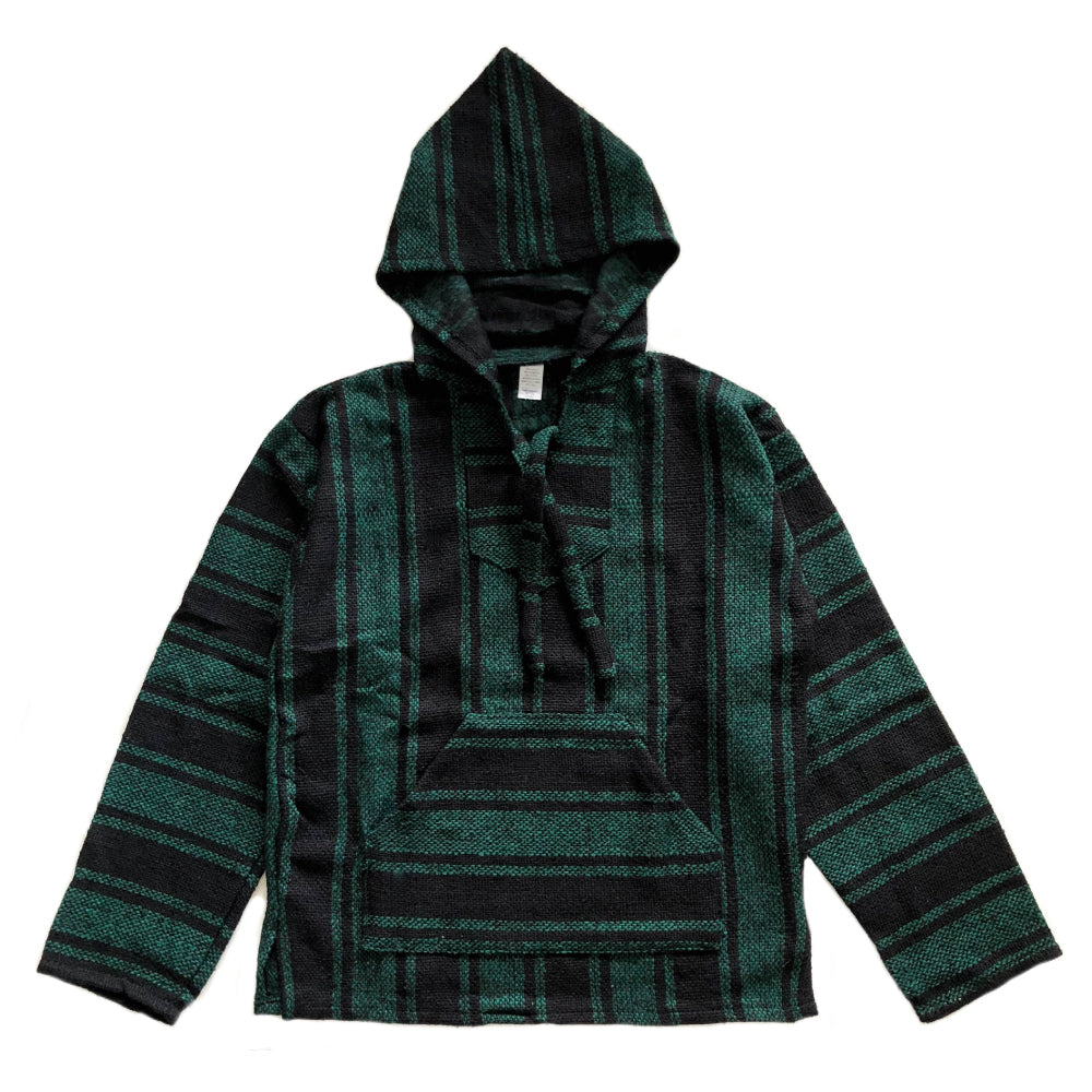 Men's Baja - Large Dark Green & Black