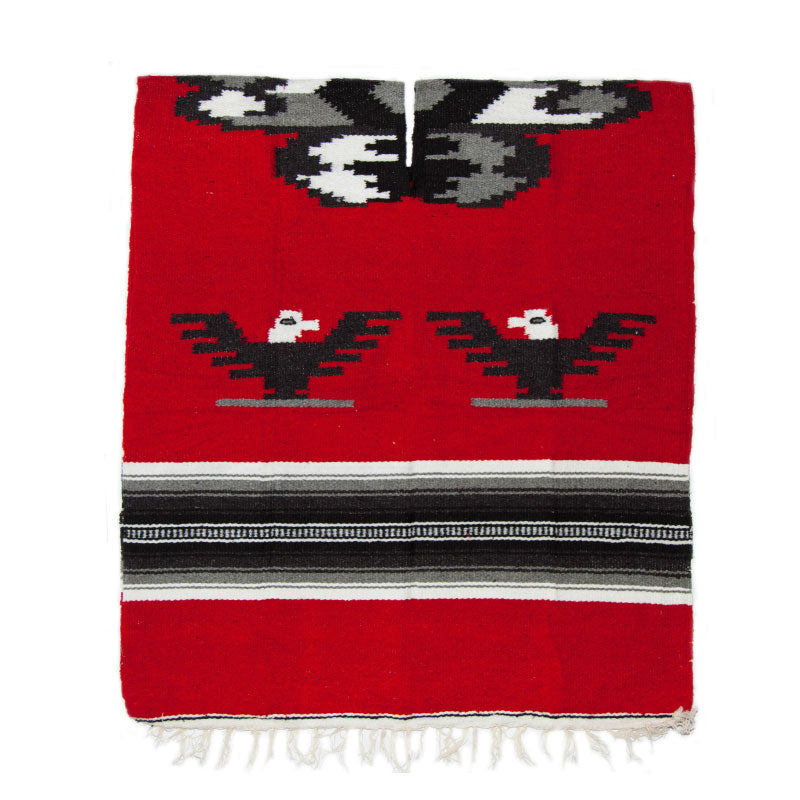 Poncho - Eagle - Red