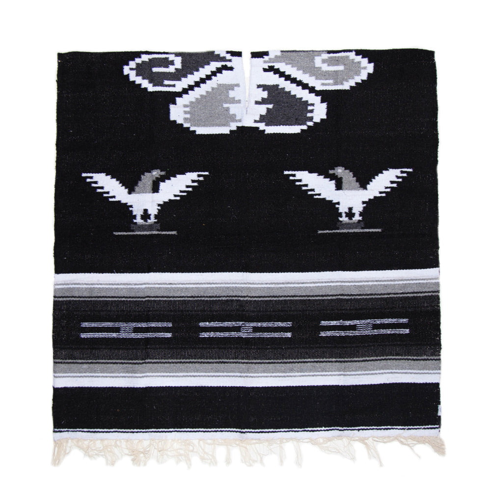 Poncho - Eagle - Black