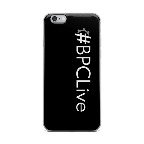 #BPCLive iPhone Case