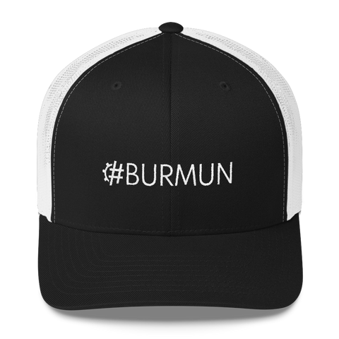 #BURMUN Retro Trucker Hat