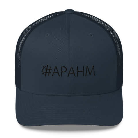 #APAHM Retro Trucker Hat