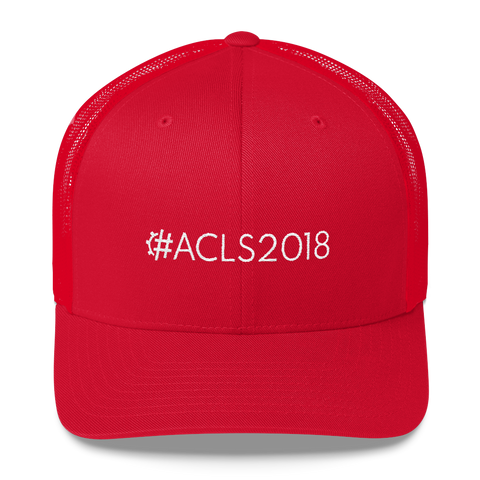#ACLS2018 Retro Trucker Hat
