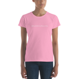 #WhatOldSchoolMeansToMe Women's Casual T