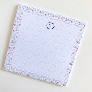 Floral Sticky Notepad