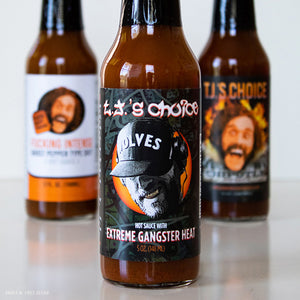 AUTOGRAPHED Extreme Gangster Heat Hot Sauce