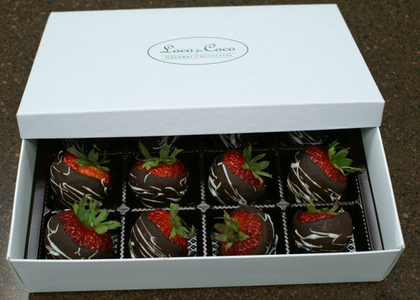Chocolate Coated Strawberries - Limited Availability