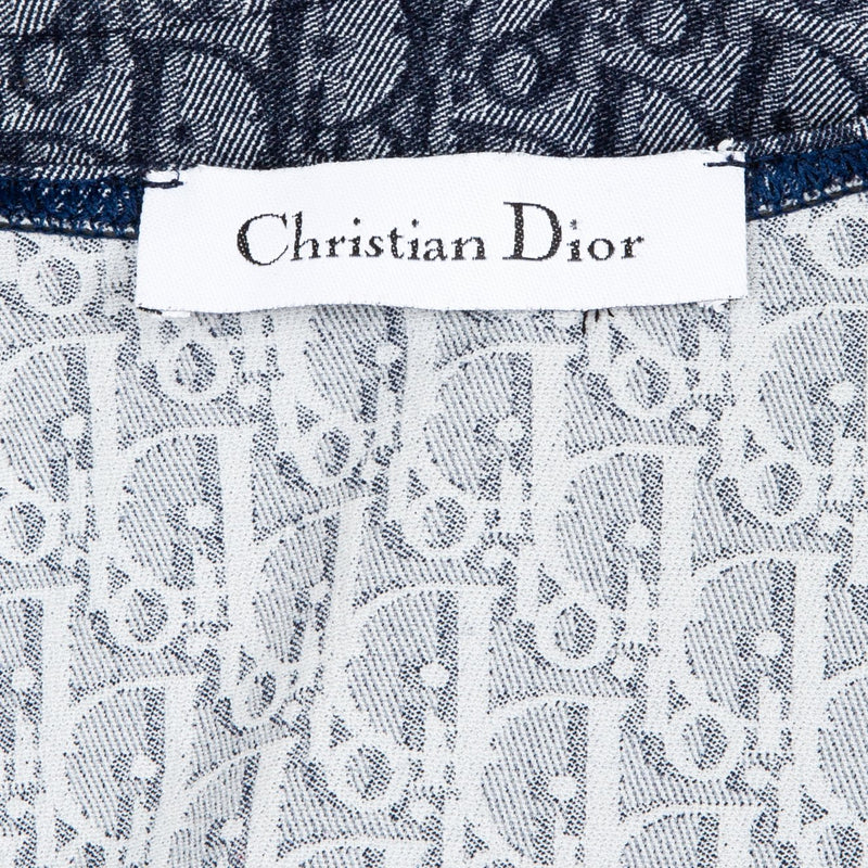 Christian Dior Navy Diorissimo One-Piece