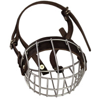 "Metal Wire Basket Dog Muzzle Boxer, Bulldog Female. Circumference 13"", Length 3"""