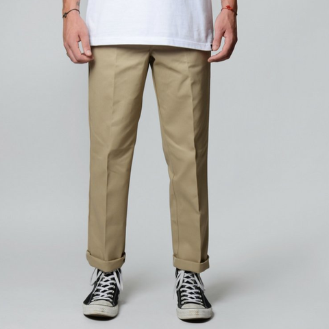 Dickies  873 Straight Fit Pants - Khaki