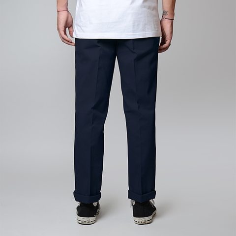 Dickies 873 Straight Fit Pants - Navy Flex
