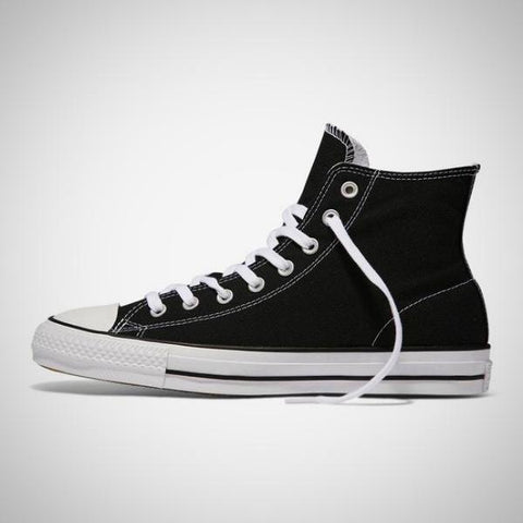 Converse CTAS Pro Hi Top Canvas Shoes. Made for skateboarders for the ultimate in cushioning and wear and tear