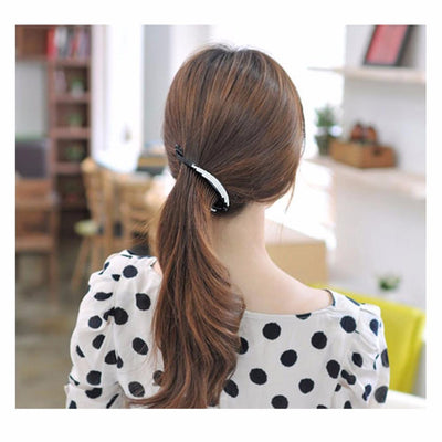 Hair Accessories - 2016 Fish Hair Combs Crystals Hair Clips New Fashion Hair Jewelry Girls Barrettes Rhinestone Hairpins for Women Black/Brown HC39 -   jetcube