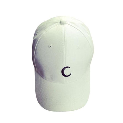 Moon Embroidery 2016 New Fashion Baseball Caps Women Men Cotton Black White Snapback Hats For Men Gorras Hombre,Casquette Femme