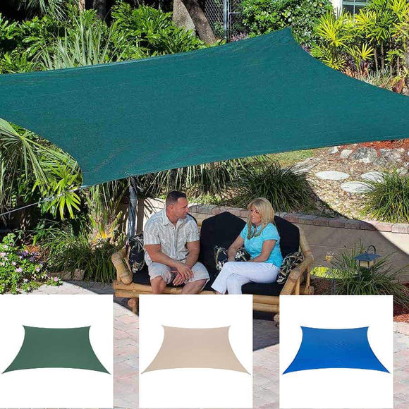 Coolaroo Coolhaven 12 ft Square Shade Sail