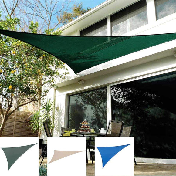 Coolaroo Coolhaven Right Triangle Shade Sail 15'x12'x9'