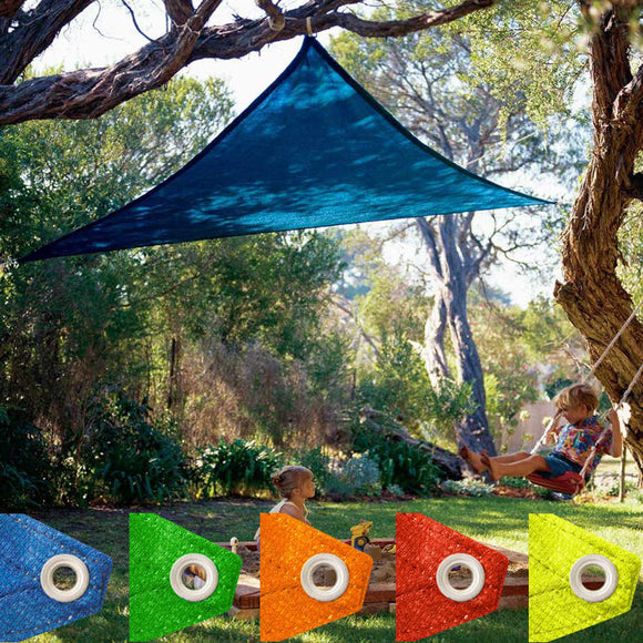 Coolaroo Kool Kolors Triangle Shade Sail - 9'10