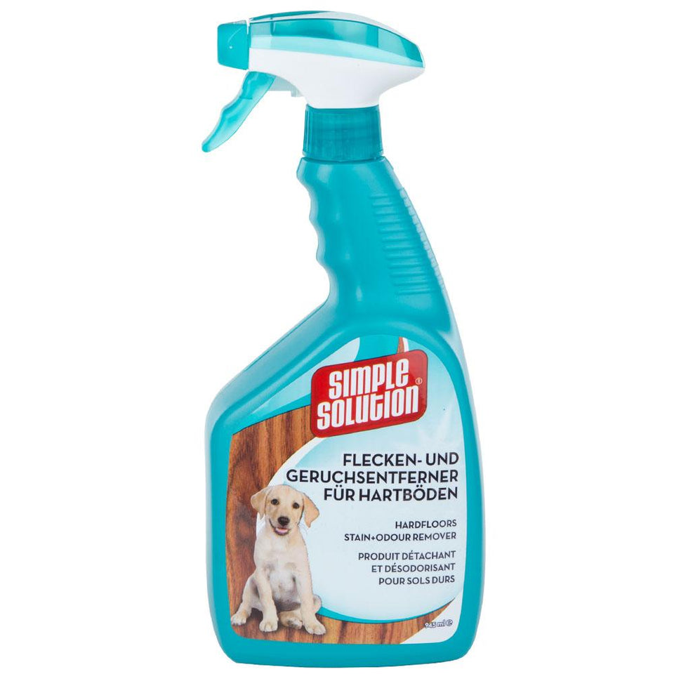 Pet Supplies - Simple Solution Stain & Odour Hardfloors Remover Spray For Dogs 945ml