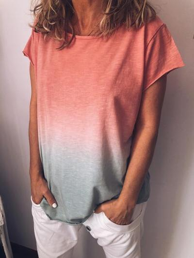 Summer Daily Short Sleeve Casual Loose Shirt